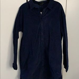 Woven shirt/Tuni Navy Dress